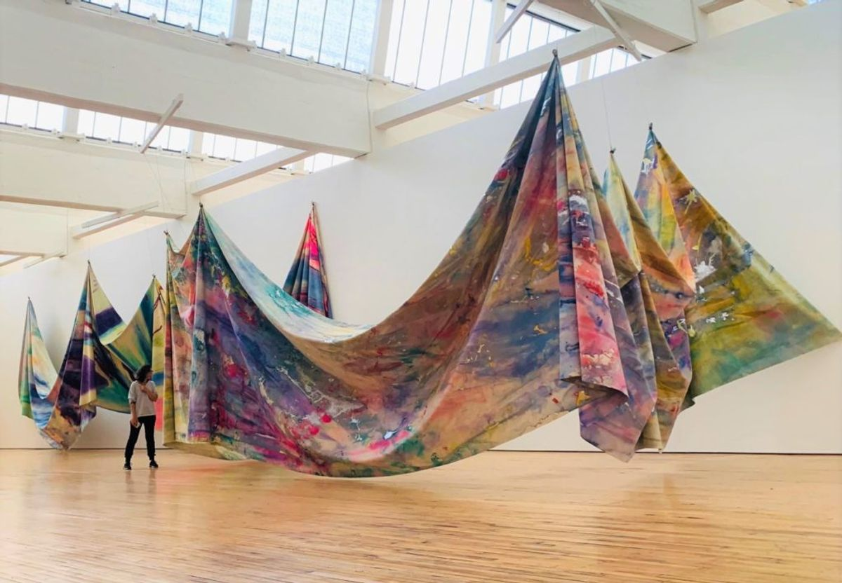 How to Look at a Sam Gilliam Painting: With One Eye on History and the Other on Color and Form