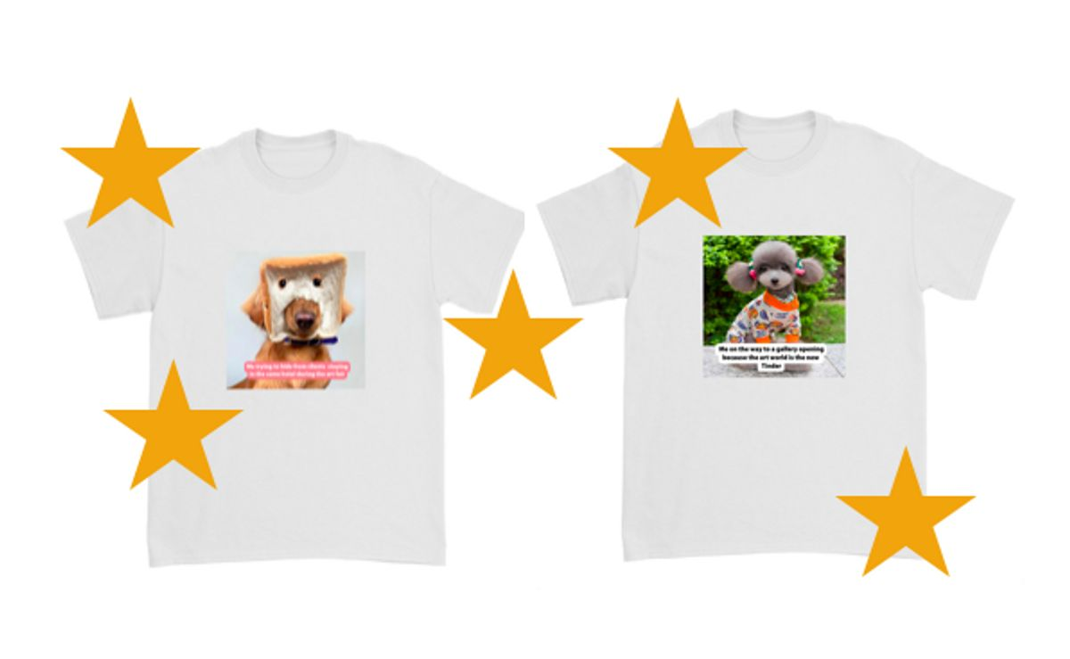 Hurray! TheArtGorgeous X König Souvenirs Drop T-Shirts Capsule
