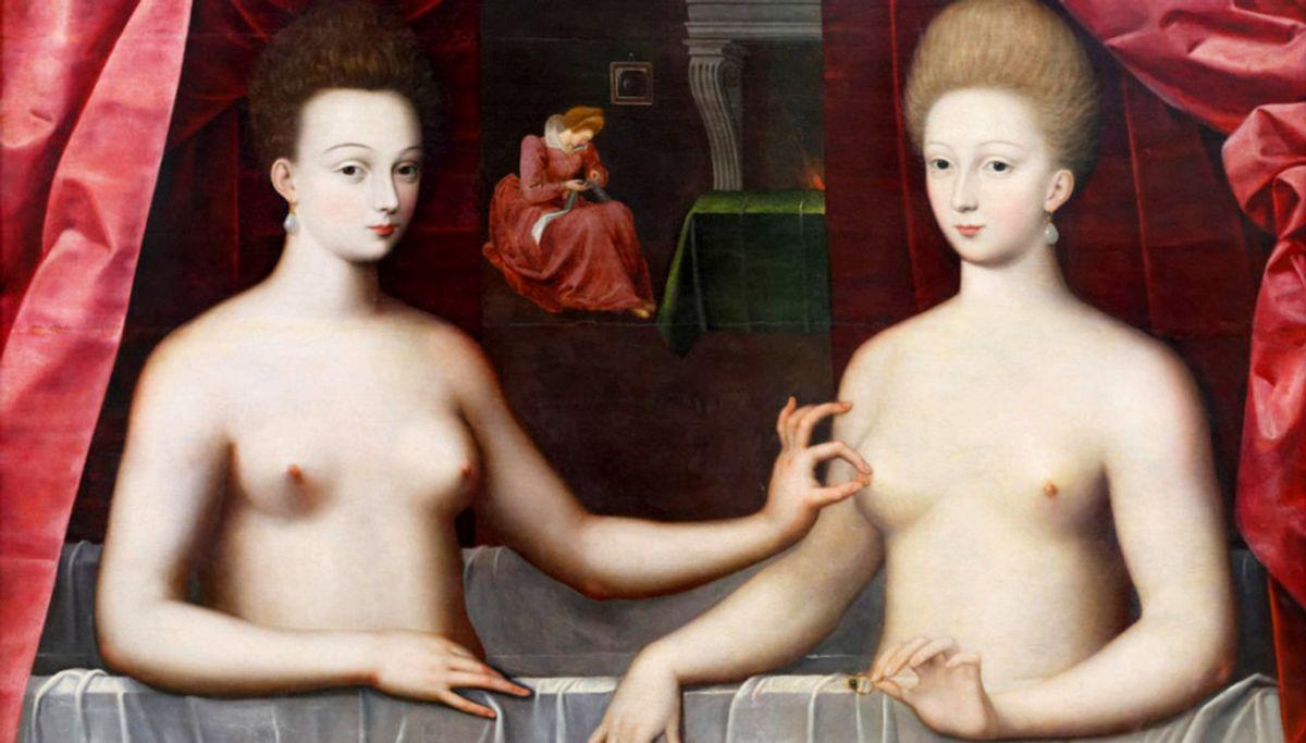 The Naughtiest Artworks In Art History