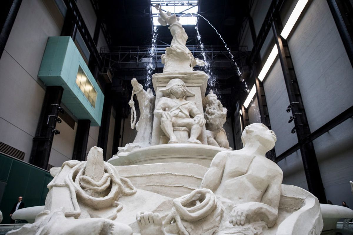 Do You Find Europe's Grand Public Fountains Charming? Kara Walker's Spectacular Turbine Hall Commission May Change That