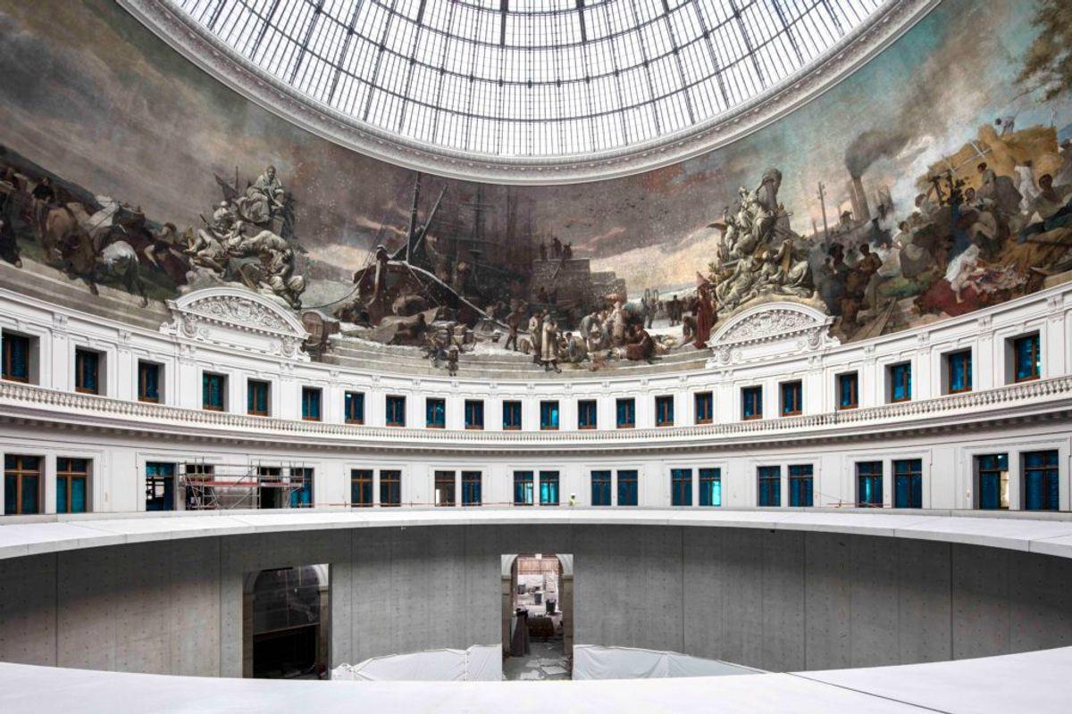 Billionaire Mega-Collector François Pinault's $170 Million Art Museum in Paris Has Finally Got an Opening Date. Here's a Sneak Peek Inside the Former Stock Exchange