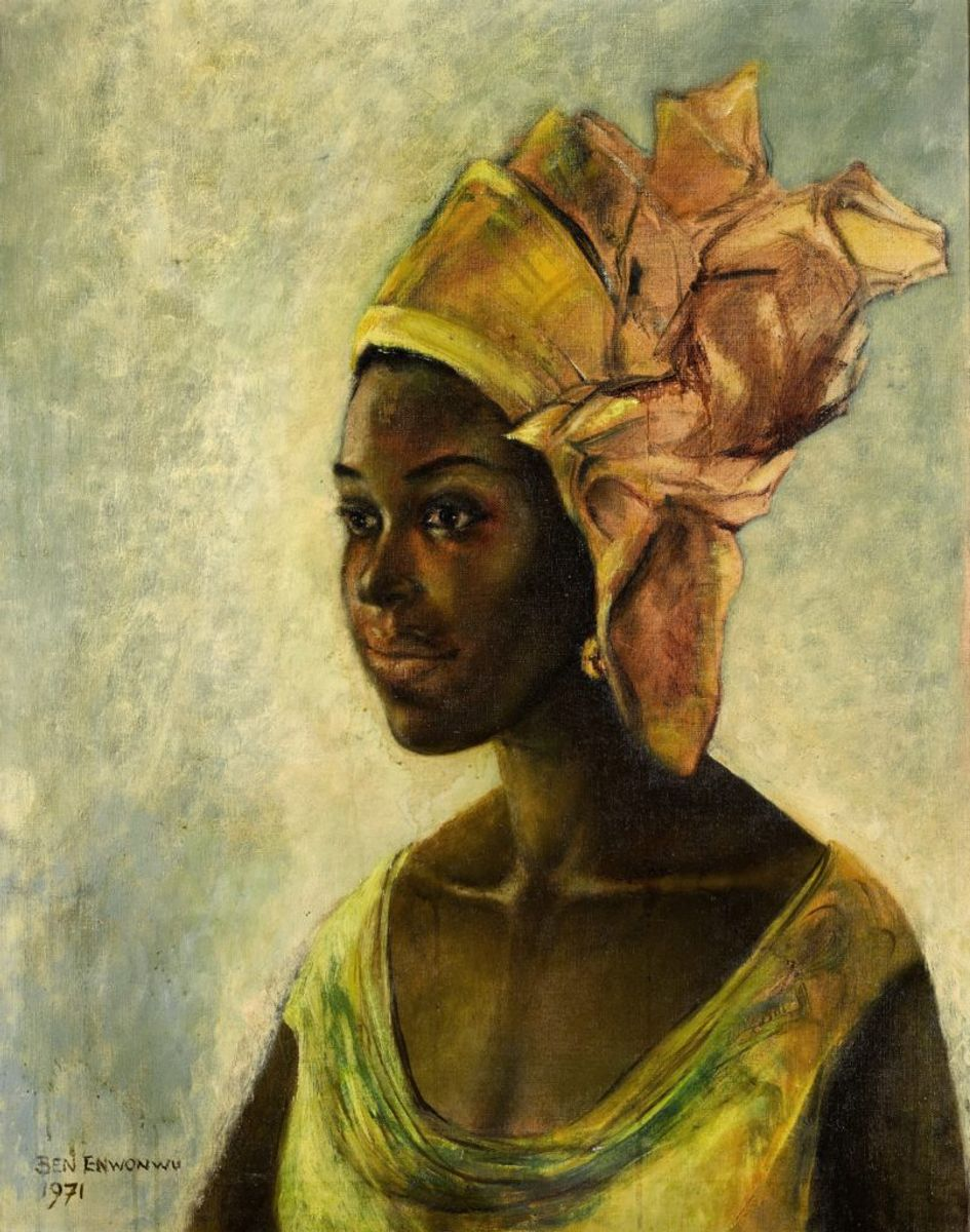A Recently Discovered Portrait by Nigerian Star Ben Enwonwu Sold for Nearly 8 Times Its Estimate at Sotheby's London