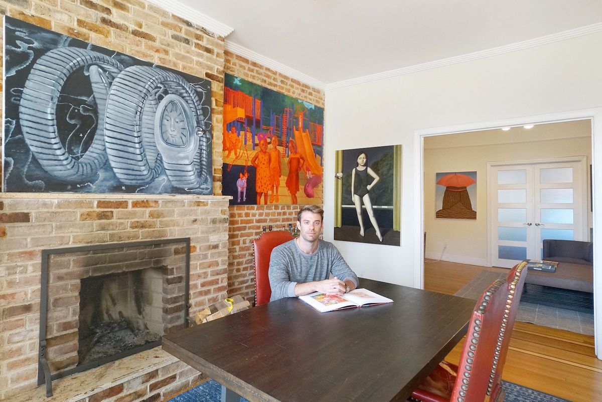 Why This Real Estate Broker Collects Only Figurative Paintings