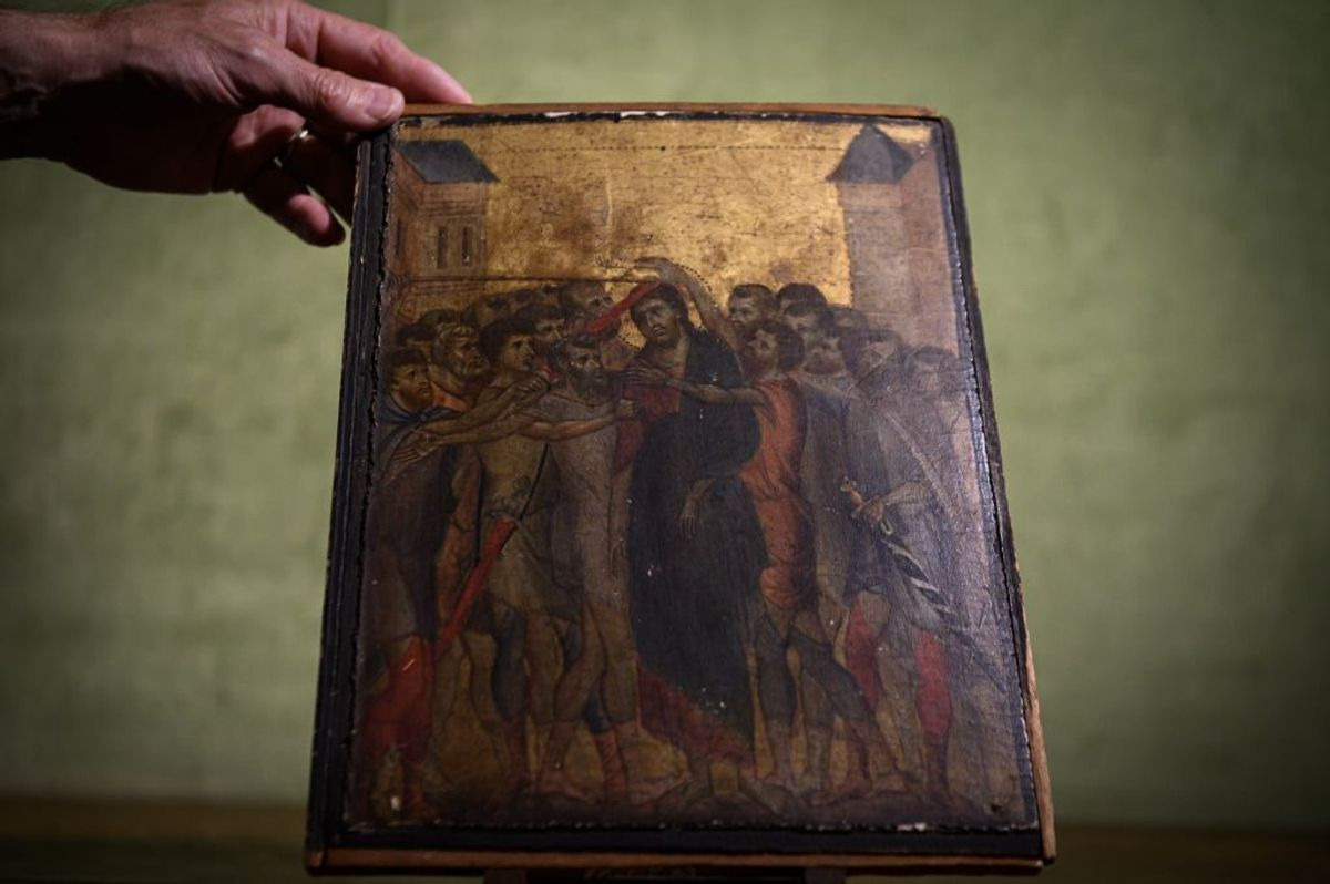 A Lost Cimabue Masterpiece Found Hanging in an Elderly French Woman's Kitchen Sold for a Stunning $26.8 Million