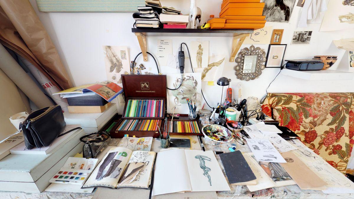 Studio Visit: Guglielmo Castelli