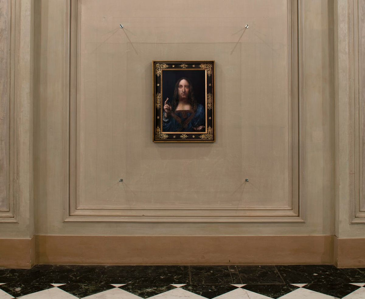 Why Remake 'Salvator Mundi'? Museum Director Talks Canny Copy of $450 M. Work