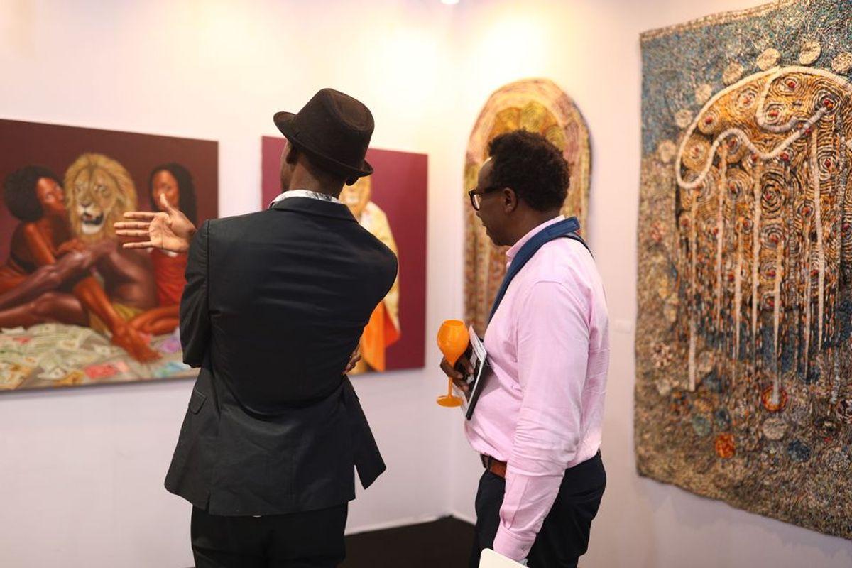 Art X Lagos 'pursues own mandate' as fair doubles in size