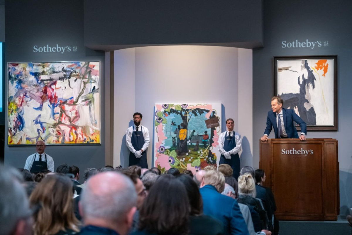 Asian Bidding Buoys Sotheby's $270.7 Million Contemporary Sale, With the Same Buyer Snapping Up Two Top Works