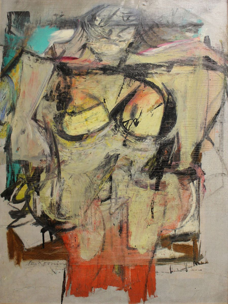 A Long-Lost de Kooning Is Being Restored, But Will Always Bear the Scars of Its Theft