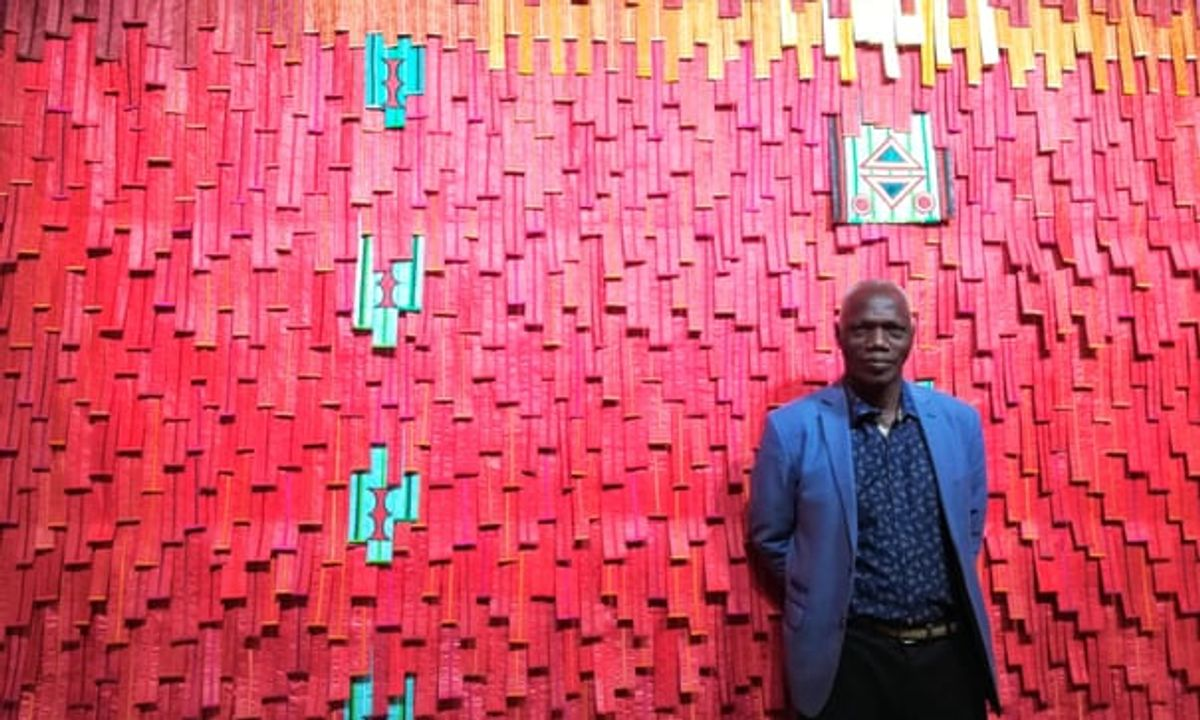 An unprecedented event': is this the most important art show ever seen in Africa?