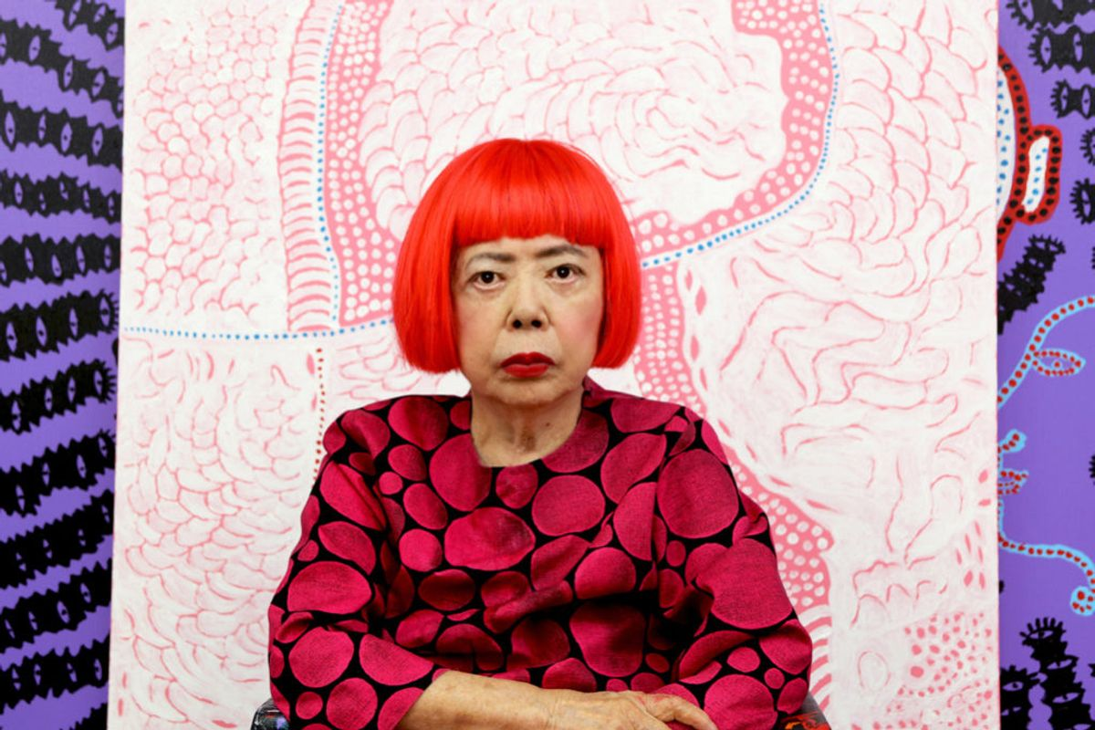 The Smithsonian Just Opened a Manila Envelope and Discovered Four Yayoi Kusama Paintings It Had No Idea Existed