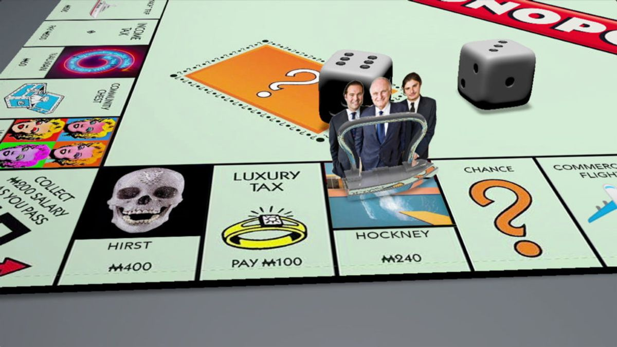 Why Do Mega-Collectors Play Monopoly With Masterpieces? Kenny Schachter Sees Trouble Brewing in the Year Ahead