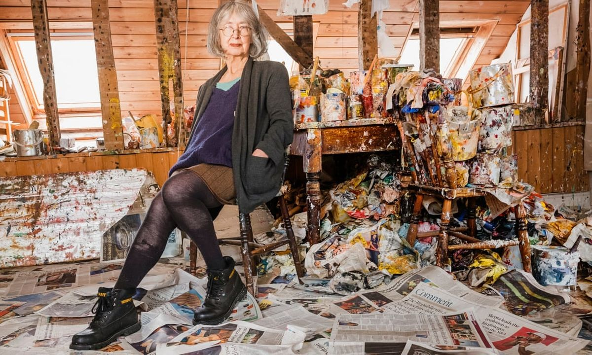 Lost (and Found) Artist Series: Rose Wylie