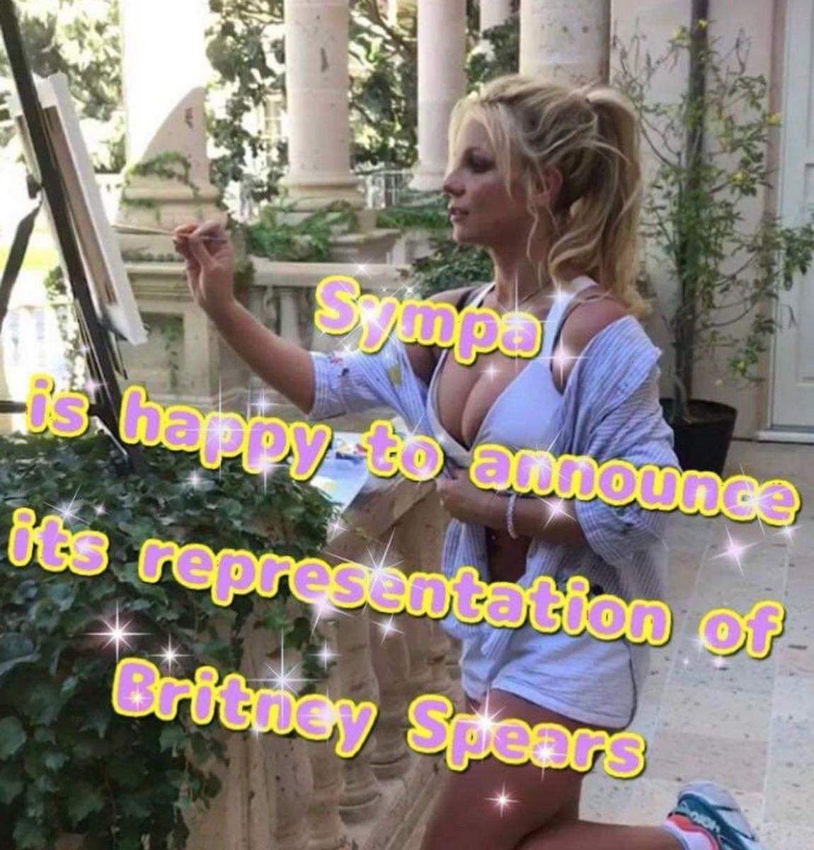 The Internet Is Abuzz With the News That Britney Spears Is Getting Her First Gallery Show. But It's All a Lie