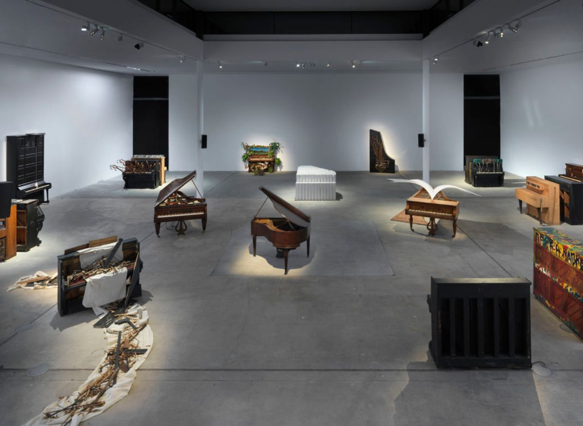 Inspired by John Cage, an Italian Collector Commissioned Leading Artists to Transform Pianos Into Weird and Wonderful Sculptures—See Them Here