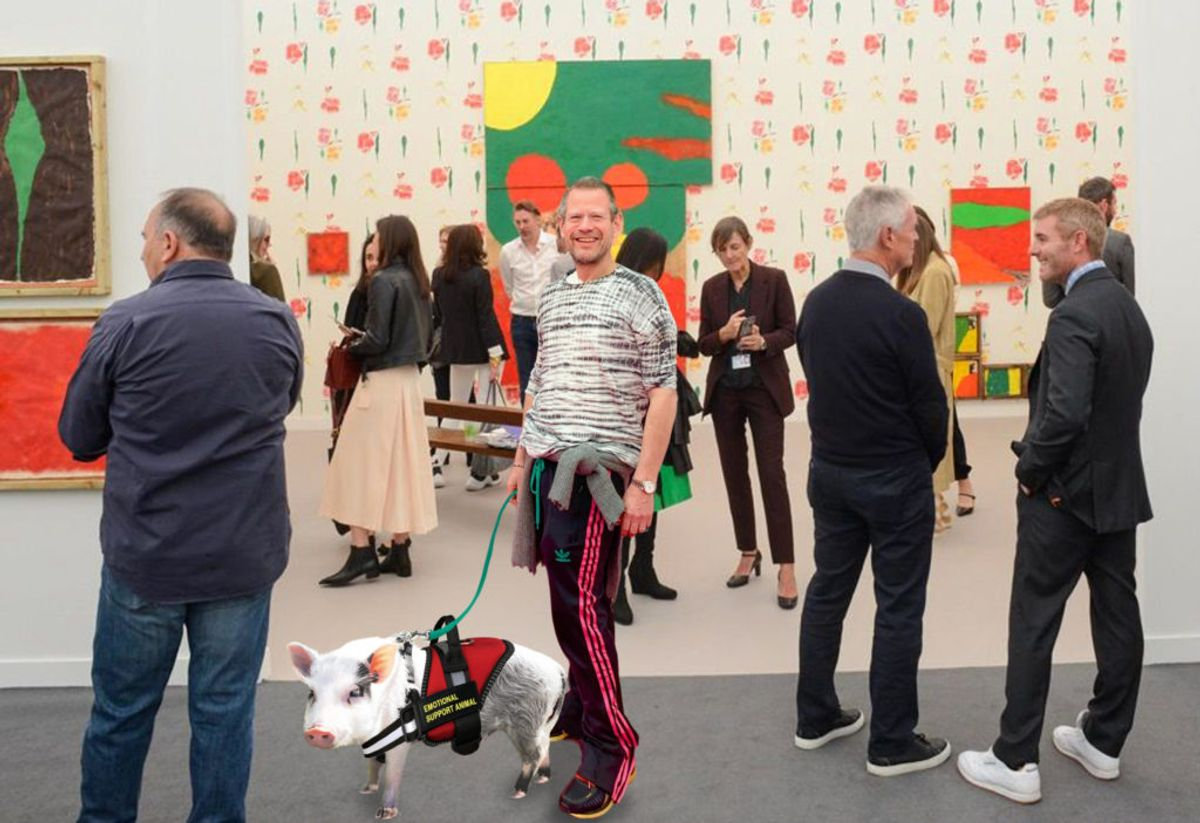 Kenny Schachter Gets Emotional Support at LA's Art Fairs—and Picks Up Some Intel on Larry Gagosian's Bedroom Dealings