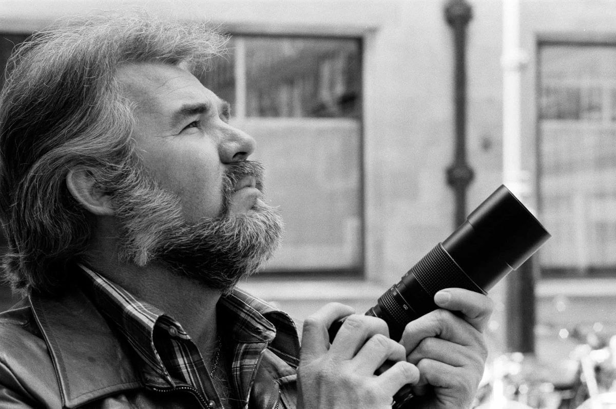 'Remarkably talented': the epic photography of Kenny Rogers