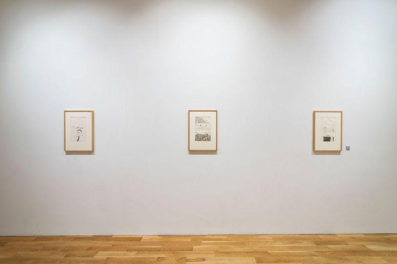 Films by James Scott, Etchings by David Hockney