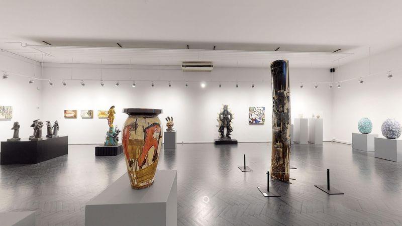 Tommerup Ceramic Workshop (Group Exhibition), Galerie Moderne Silkeborg (5 of 6)