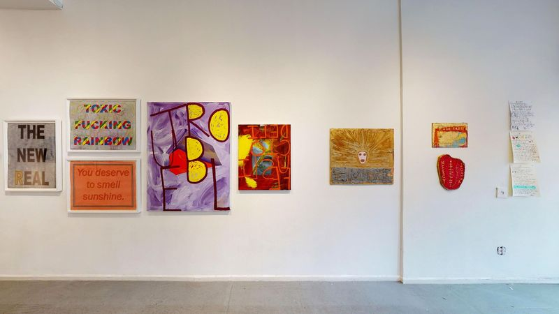 Pungent Dystopia (Group Exhibition), Freight + Volume (2 of 4)