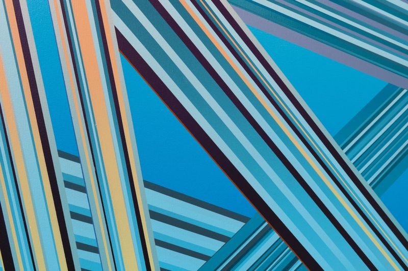 Stripes and Strokes by Marius Martinussen, QB Gallery (7 of 7)