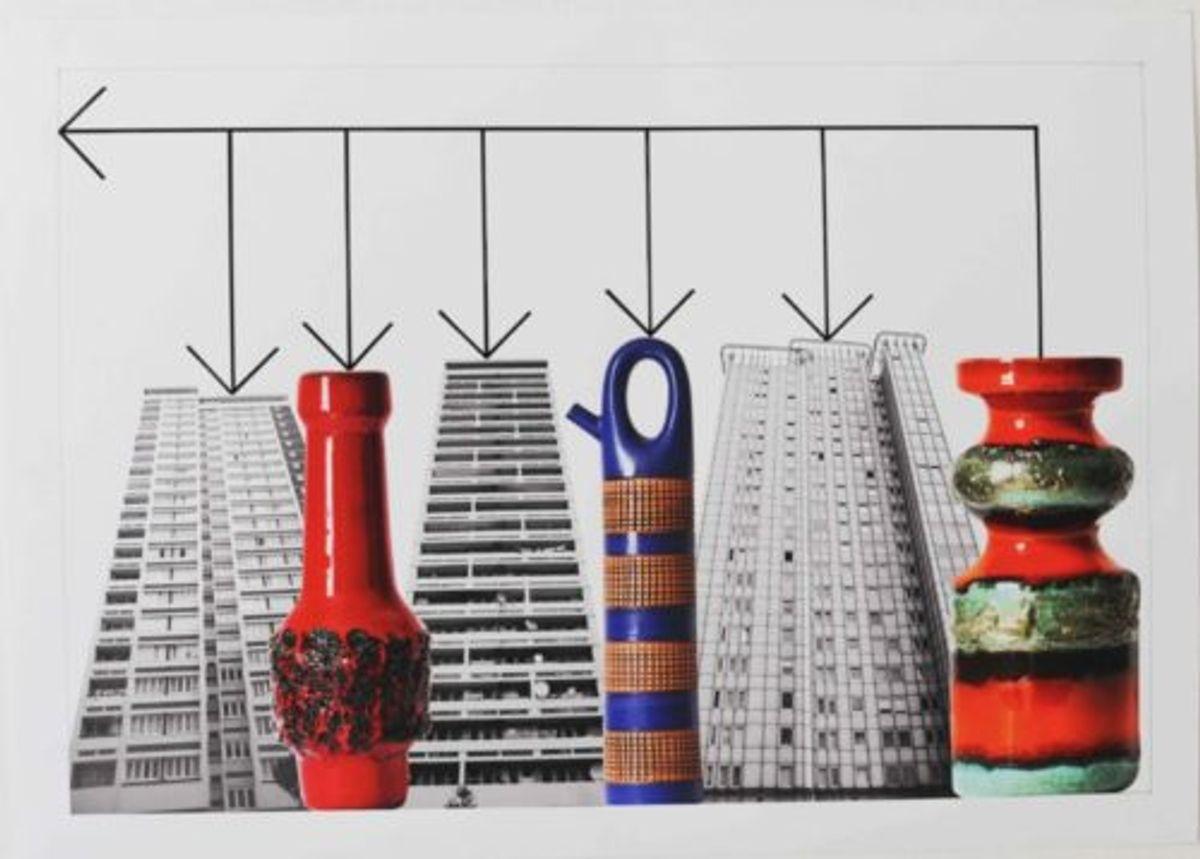 MODERN BUILDINGS by Stephen Willats at Lumen Travo - Artland