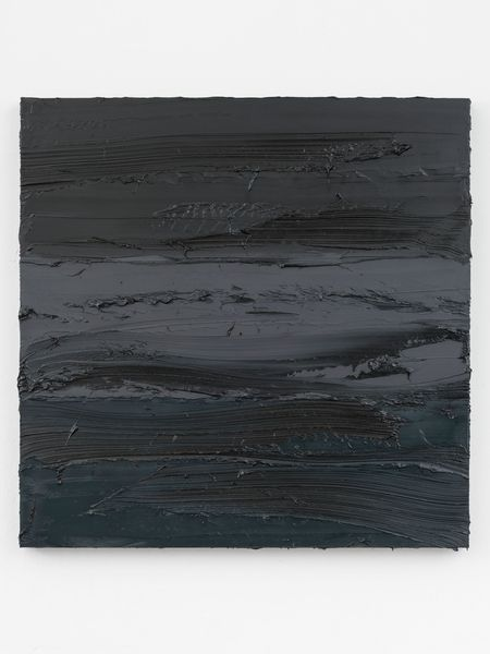 Untitled (Lamp Black/Graphite Grey/Prussian Blue)