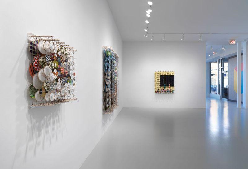 Work by Jacob Hashimoto, Rhona Hoffman Gallery