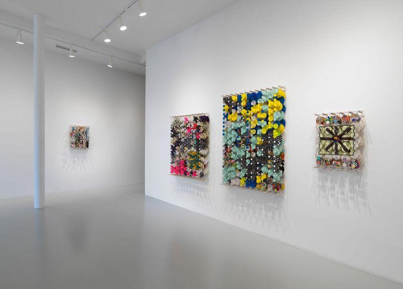 Work by Jacob Hashimoto, Rhona Hoffman Gallery (2 of 4)