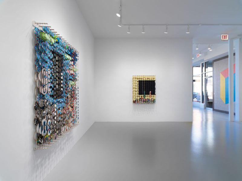 Work by Jacob Hashimoto, Rhona Hoffman Gallery (4 of 4)