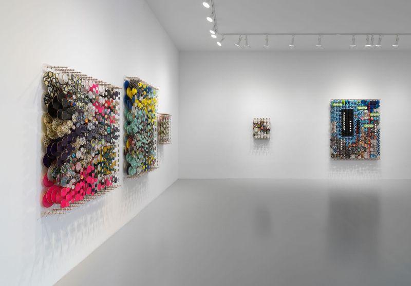 Work by Jacob Hashimoto, Rhona Hoffman Gallery (3 of 4)