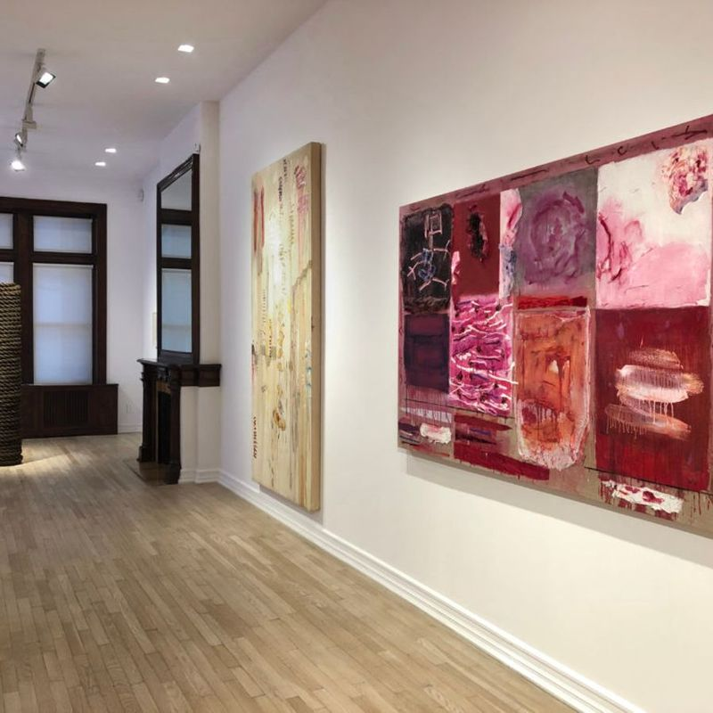 mulberry and canal: joan snyder, keith sonnier, jackie winsor