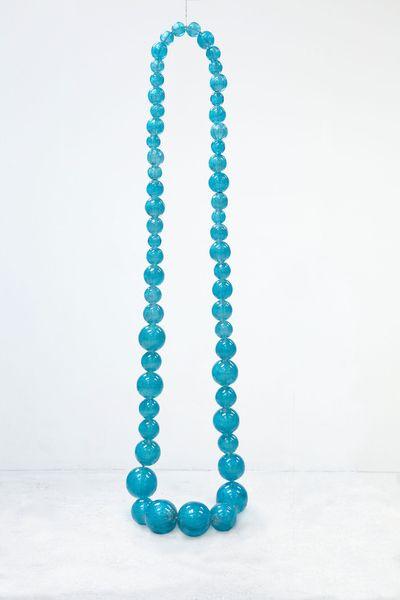Collier Aquamarine Mica