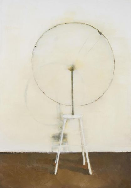 """Painted readymade - Marcel Duchamp's """"Bicycle wheel"""""""