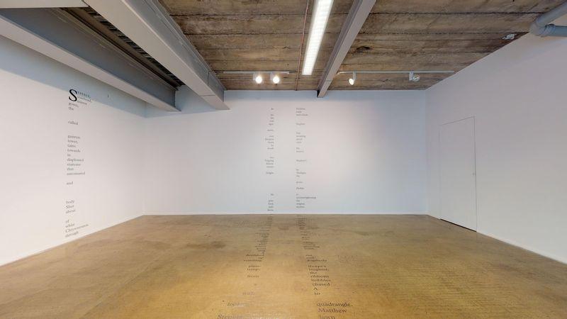 Gutter Words by Jo Hamill, Platform - A Gallery