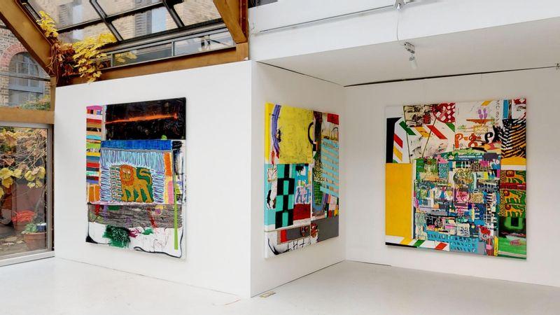 Moment by Wendimagegn Belete, Kristin Hjellegjerde Gallery | London, Melior Place (3 of 3)