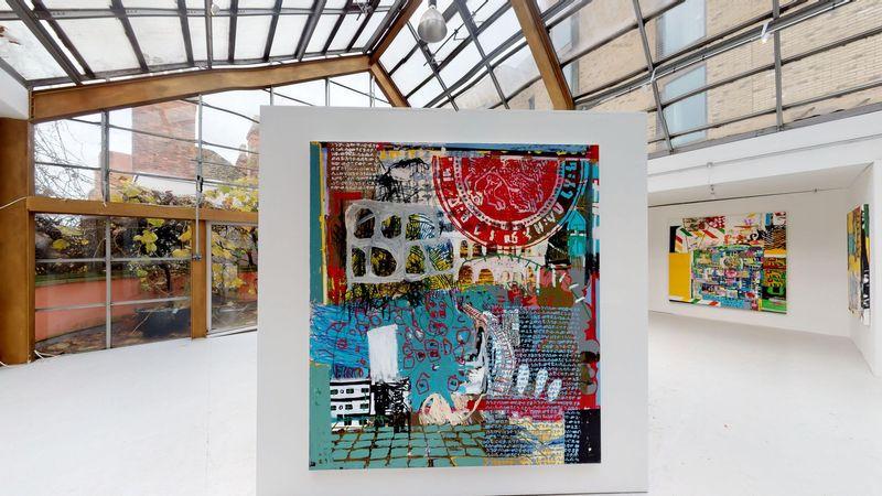 Moment by Wendimagegn Belete, Kristin Hjellegjerde Gallery | London, Melior Place