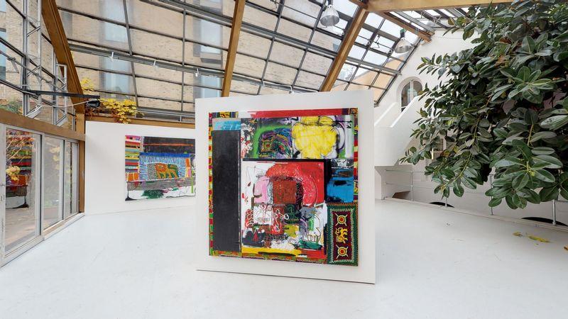 Moment by Wendimagegn Belete, Kristin Hjellegjerde Gallery | London, Melior Place (2 of 3)