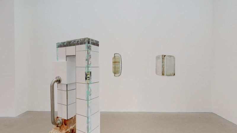 GLASS, RUBBER, STONE — NOT SO A WHITE CUBE #15 (Group Exhibition), LAGE EGAL