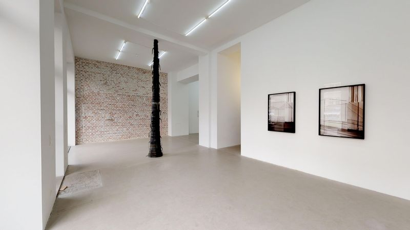 GLASS, RUBBER, STONE — NOT SO A WHITE CUBE #15 (Group Exhibition), LAGE EGAL (3 of 3)