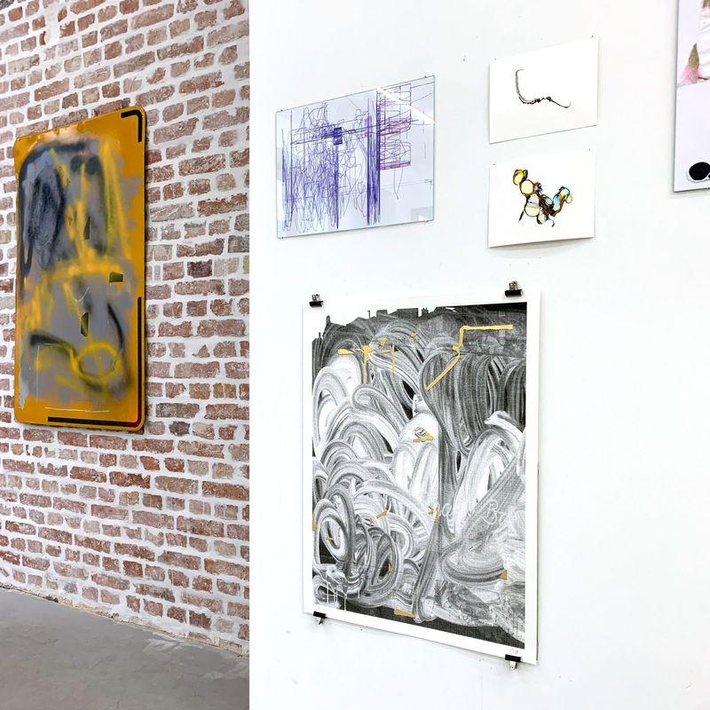 L'ARTISTE ET LES COMMISSAIRES — NOT SO A WHITE CUBE #16 (Group Exhibition), LAGE EGAL (3 of 3)