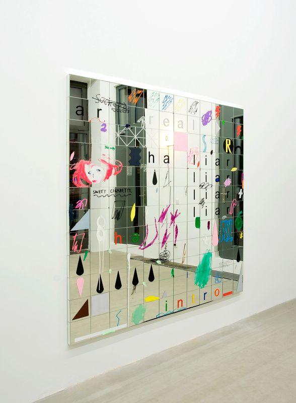 SIBYLLE JAZRA, LUKAS GLINKOWSKI — NOT SO A WHITE CUBE #2 (Group Exhibition), LAGE EGAL (2 of 6)