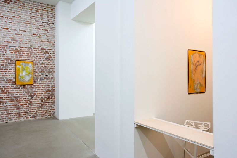 SIBYLLE JAZRA, LUKAS GLINKOWSKI — NOT SO A WHITE CUBE #2 (Group Exhibition), LAGE EGAL (5 of 6)