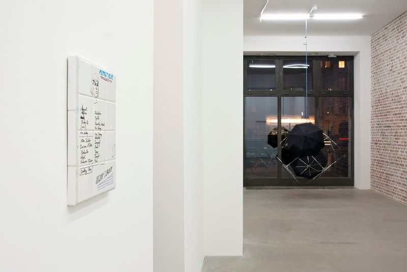 SIBYLLE JAZRA, LUKAS GLINKOWSKI — NOT SO A WHITE CUBE #2 (Group Exhibition), LAGE EGAL (3 of 6)