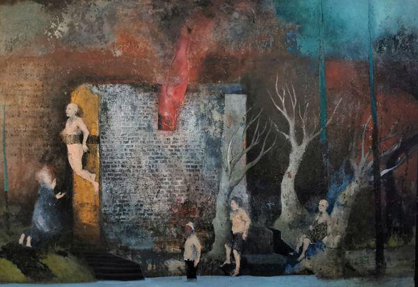 La casa che arde viva (the burning alive house)