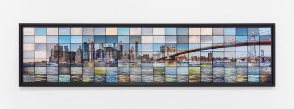 CRONORAMI series | NYC Brooklyn Bridge | Variation #001 M147