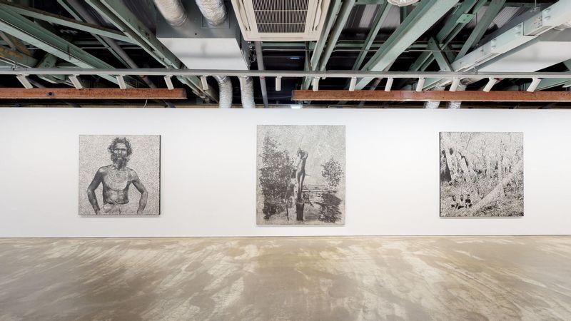 Recalcitrant Radiance by Daniel Boyd, Kukje Gallery   Busan (2 of 3)