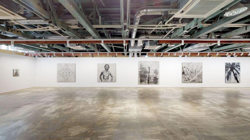 Recalcitrant Radiance by Daniel Boyd, Kukje Gallery   Busan (3 of 3)