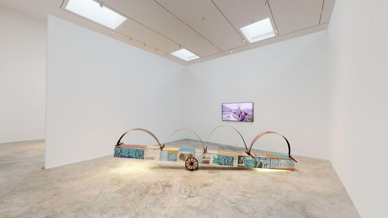 The Red Bean Grows in the South (Group Exhibition), Faurschou Foundation | New York (4 of 4)