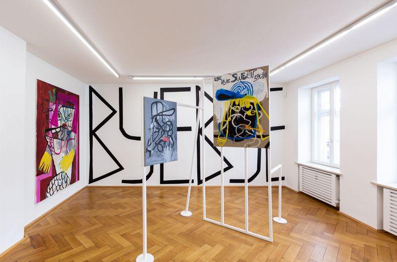 und das ist erst der Anfang / and this is just the beginning by Boban Andjelkovic, Galerie Britta von Rettberg (4 of 5)
